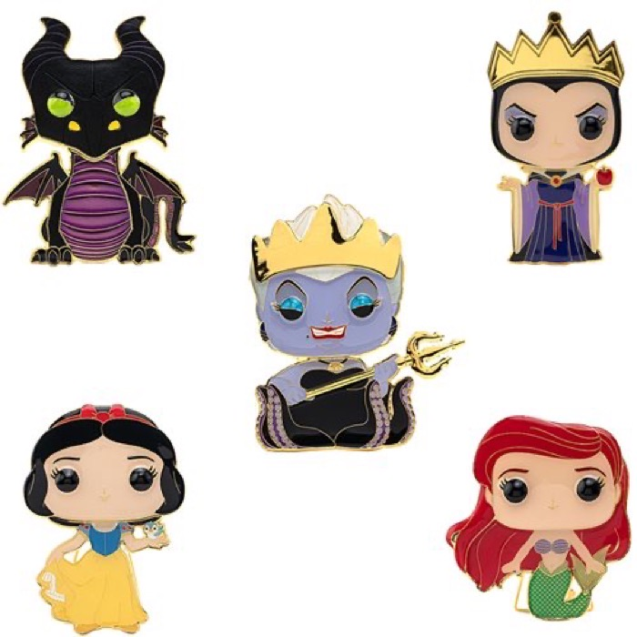 Funko Pop! Wave 3 Disney Pins