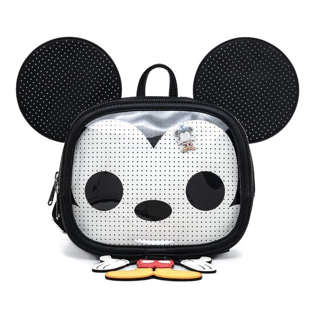 Funko Pop! by Loungefly Mickey Mouse Pin Trader Mini Backpack