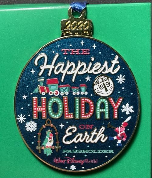 Happy Holidays 2020 Disney Ornament