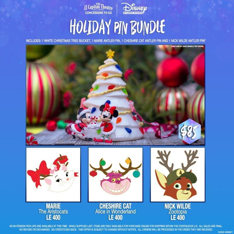 Holiday Pin Bundle - DSSH 2020