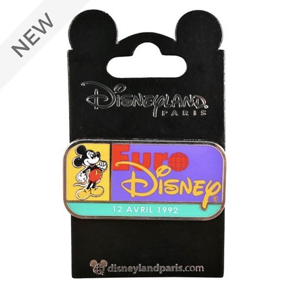 Euro Disney Pin at Disney Store UK