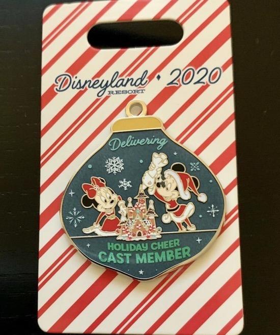 Happy Holidays 2020 Disneyland Cast Member Pin