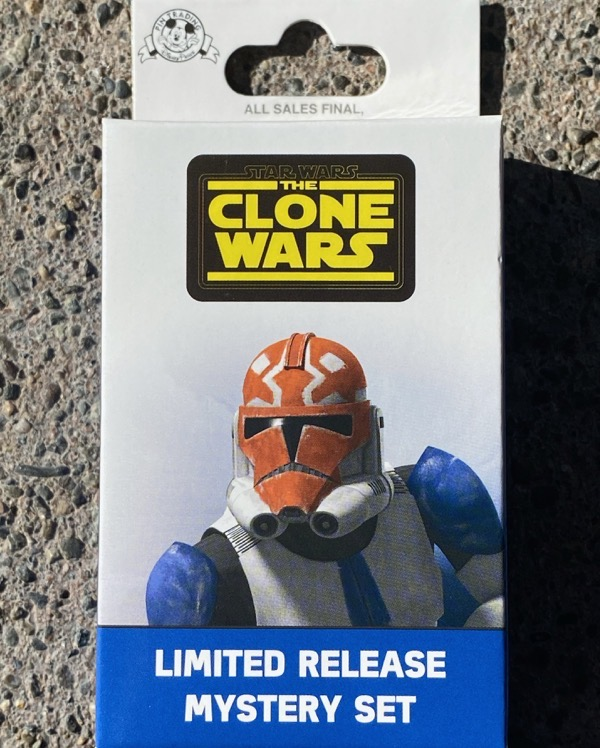 Star Wars The Clone Wars Limited Release Mystery Pin Set