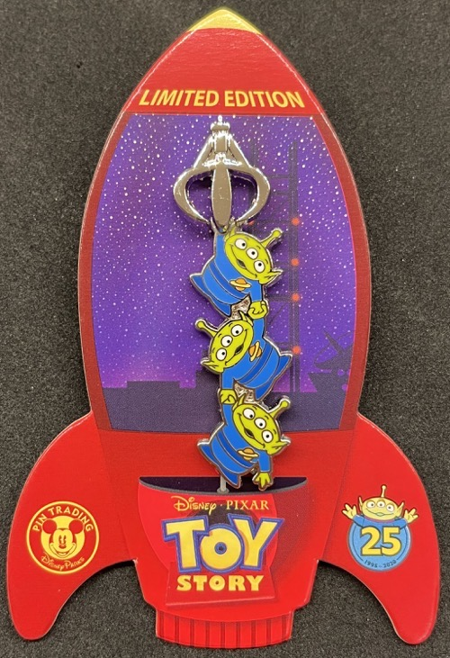 Little Green Men - Toy Story 25th Anniversary Pin