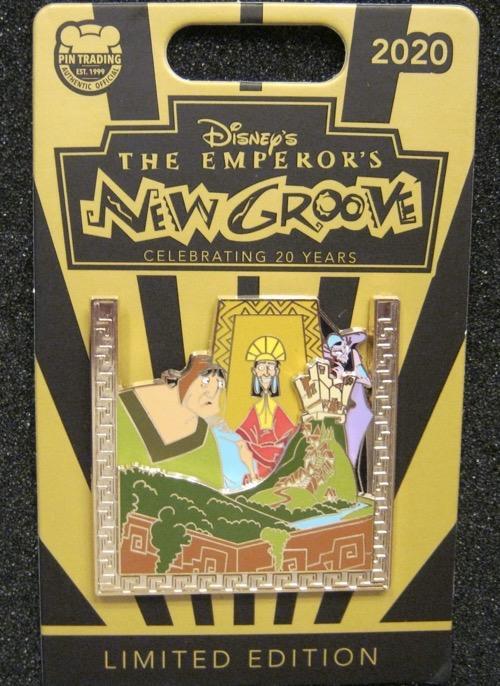 Patcha, Kuzco & Yzma - Emperor's New Groove 20th Pin