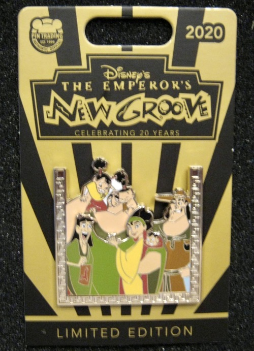 Patcha's Family - Emperor's New Groove 20th Pin
