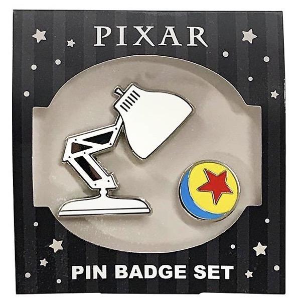 Pixar Luxo Jr. Pin Set at Disney Store Japan