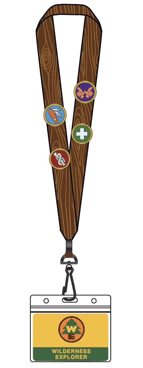 Pixar UP Wilderness Explorer Loungefly Lanyard Pin Set