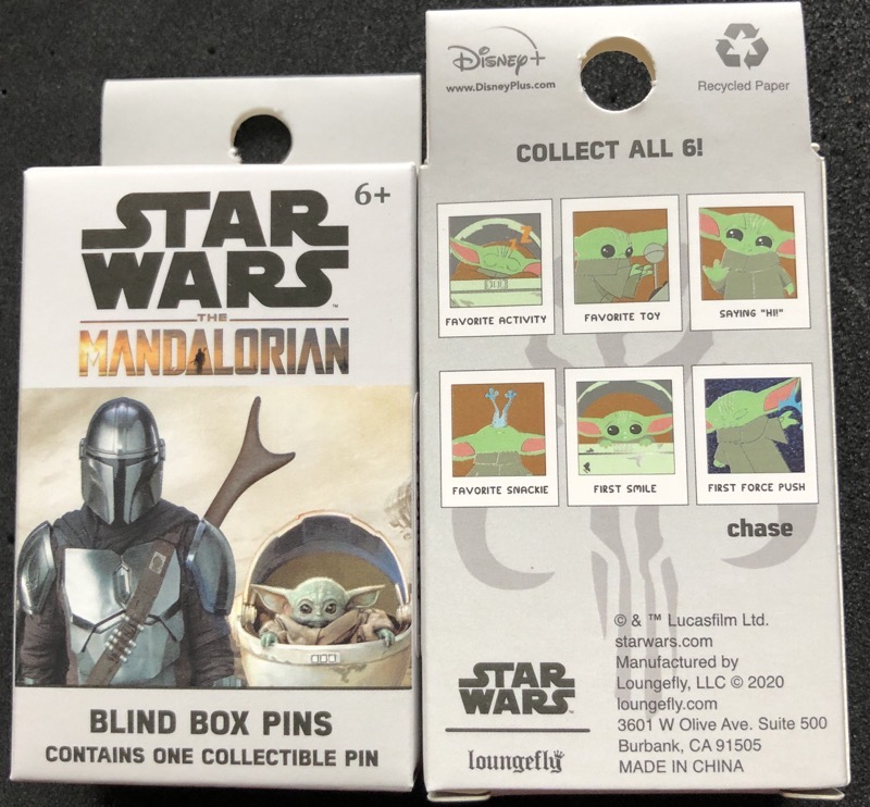 Star Wars The Child Photo Loungefly Blind Box Pins