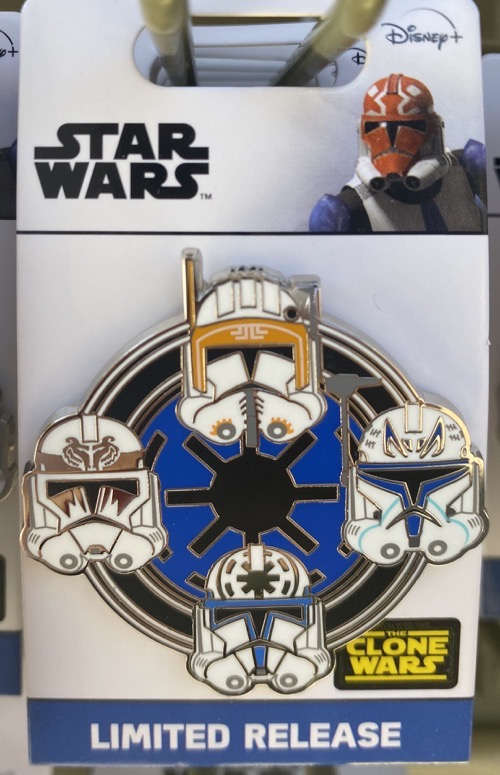 Star Wars The Clone Wars 2020 Disney Pin