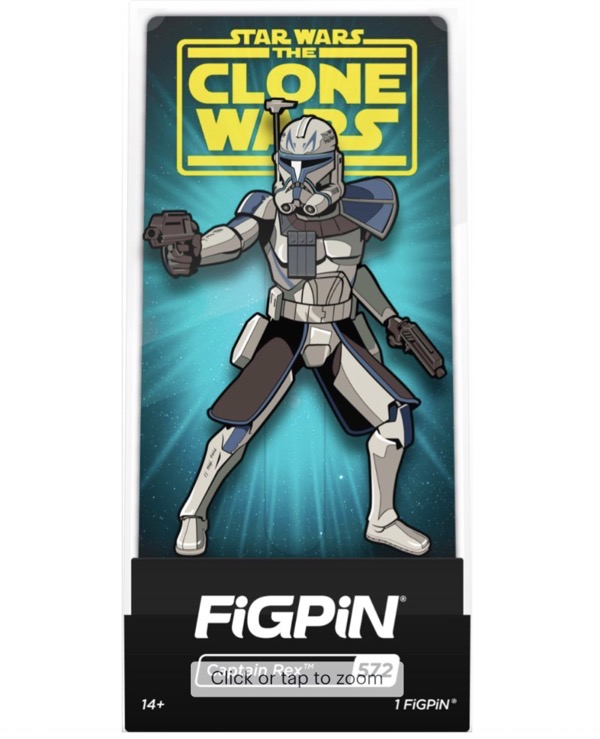 Star Wars The Clone Wars Captain Rex FiGPiN at Best Buy