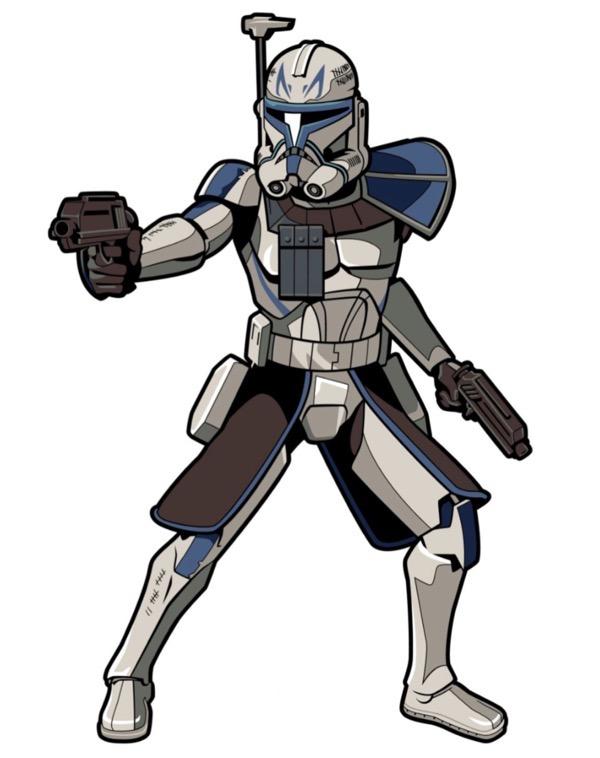 Star Wars The Clone Wars Captain Rex FiGPiN