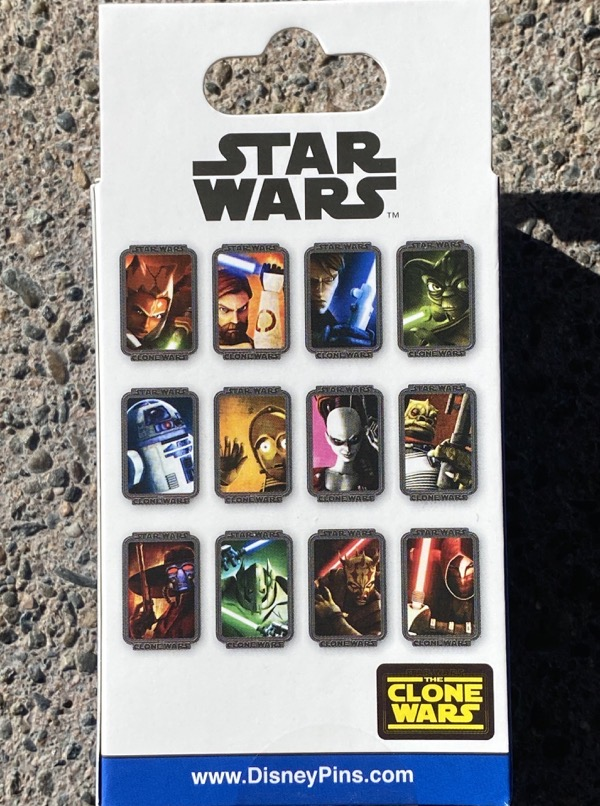 Star Wars The Clone Wars Limited Release Mystery Pins