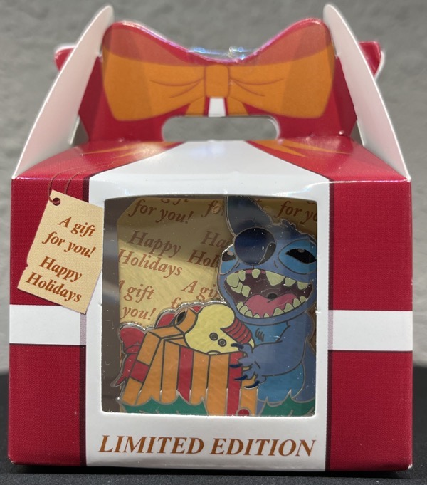 Stitch A Gift for You! Mystery Disney Pin