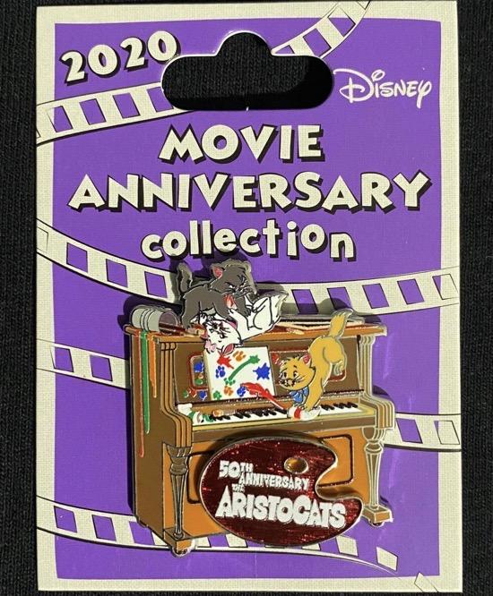 The Aristocats 50th Anniversary Cast Member Pin