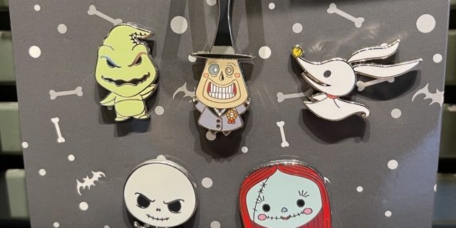 2021 Nightmare Before Christmas Trading Pin Two New Nightmare Before Christmas Pin Sets At Disney Parks Disney Pins Blog