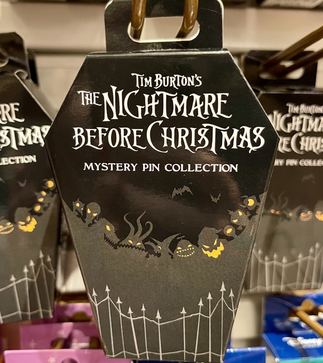 The Nightmare Before Christmas Mystery Pin Collection