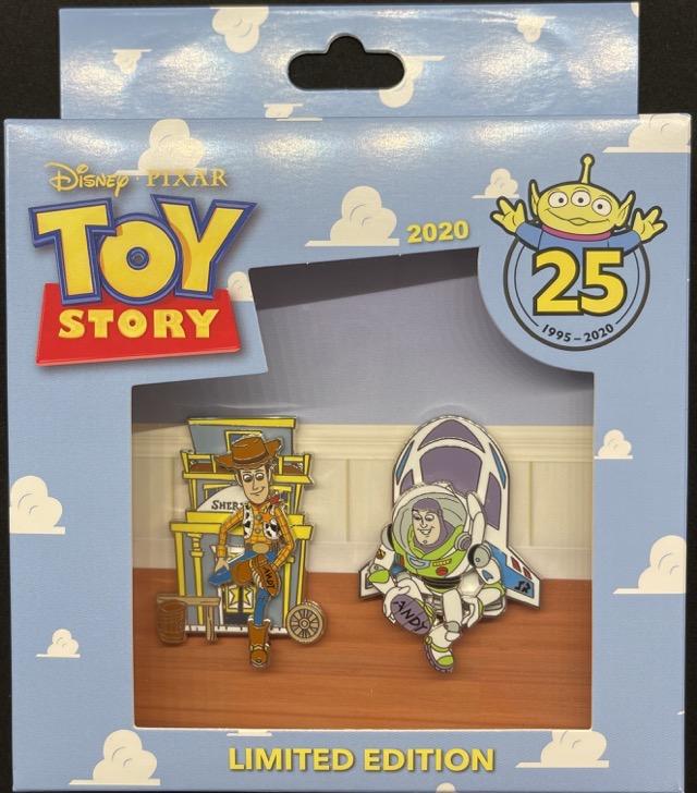 Toy Story 25th Anniversary Mini Jumbo Pin Set