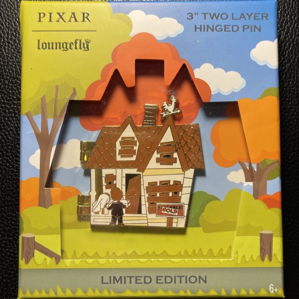 UP House Loungefly Limited Edition Disney Pin