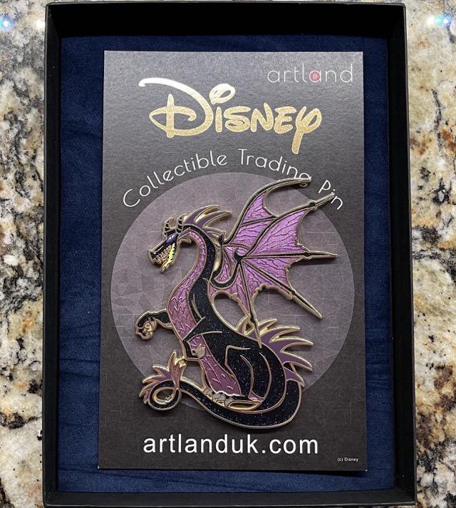 Vasilovitch Dragon #2 ArtLand Disney Pin