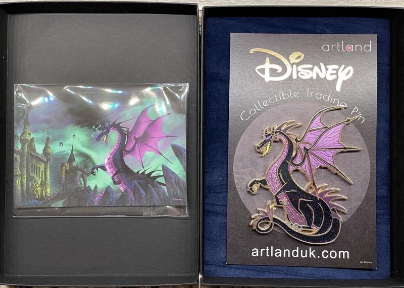 Vasilovitch Dragon #2 LE 100 ArtLand Disney Pin