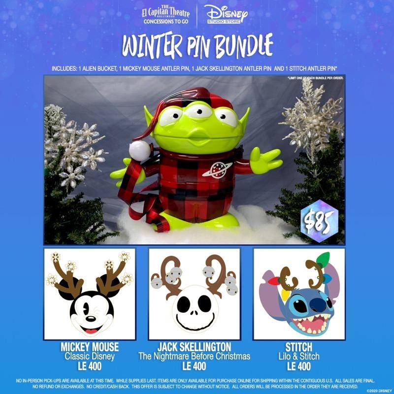 Winter Pin Bundle - DSSH 2020