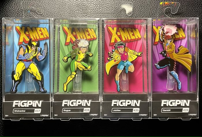 X-Men: The Animated Series FiGPiNs