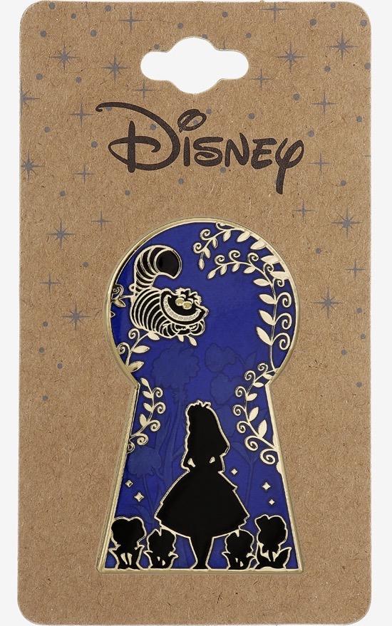 Alice in Wonderland Keyhole Silhouette BoxLunch Disney Pin