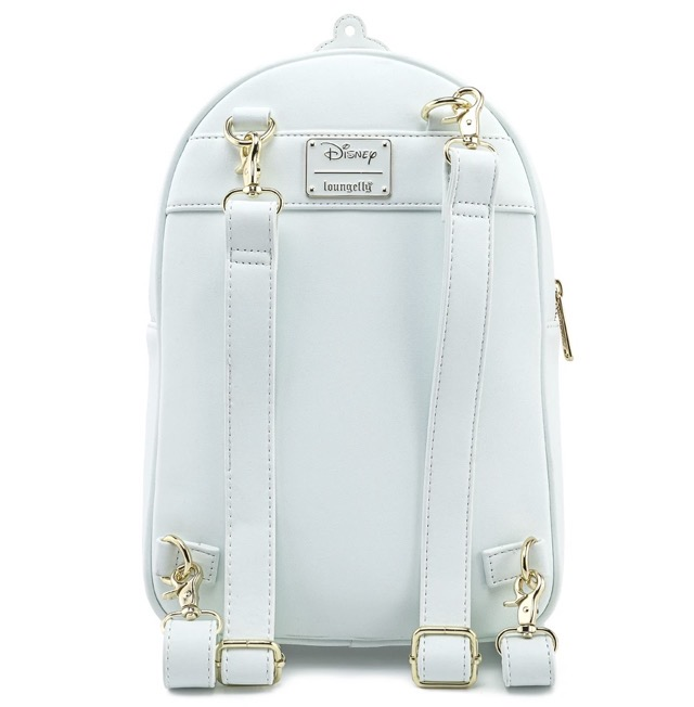 Back - Loungefly Beauty and the Beast Pin Collector Backpack