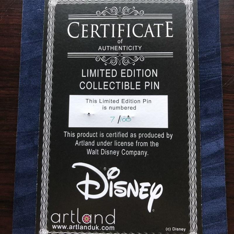 Backer Card - Blue Fairy LE 100 ArtLand Pin