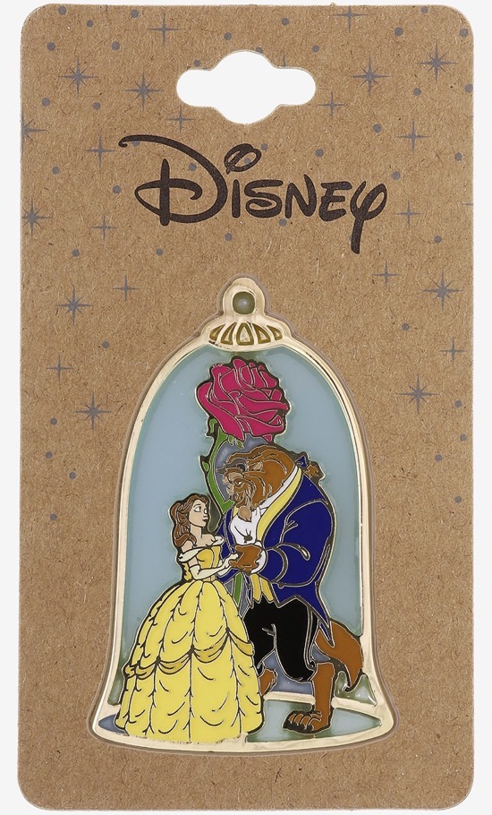 Beauty and the Beast Enchanted Rose Dance BoxLunch Disney Pin