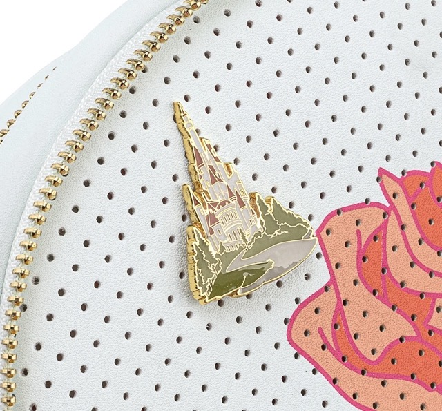 Beauty and the Beast Loungefly Backpack Pin