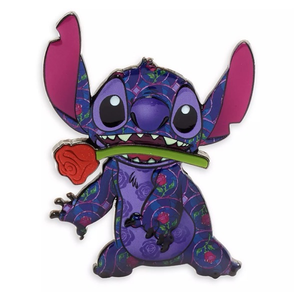 Beauty and the Beast - Stitch Crashes Disney Pin