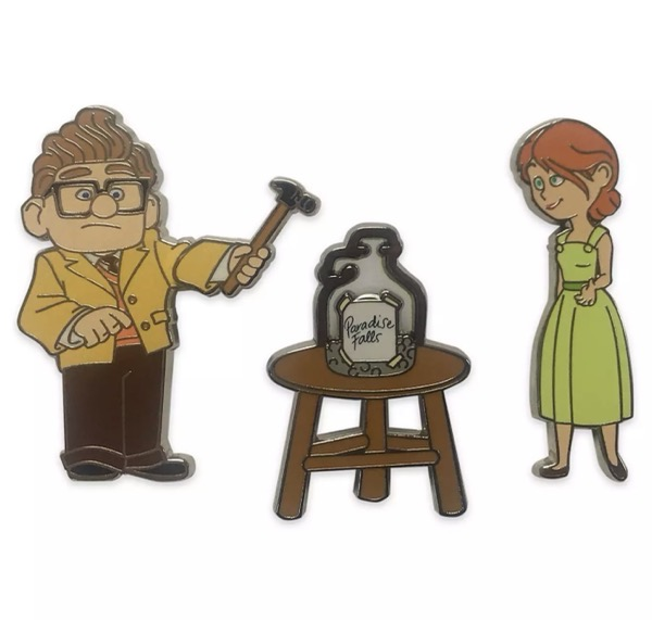 Carl & Ellie Flair Pin Set