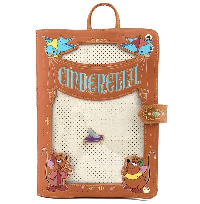 Cinderella Pin Collector Backpack by Loungefly