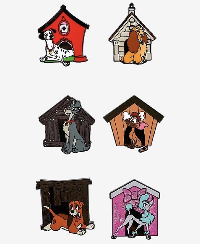 Disney Dogs Blind Box Pin Set at Hot Topic