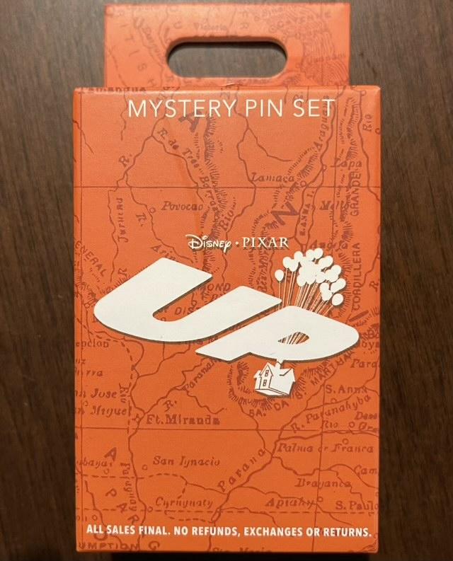 Disney Pixar UP Mystery Pin Set 2021