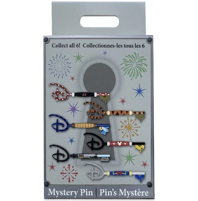 Disney Store Mystery Collectible Key Pin Box