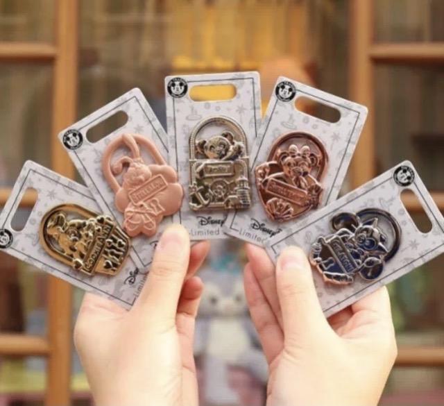 Duffy and Friends Lock the Magic Pin Series at Shanghai Disney Resort