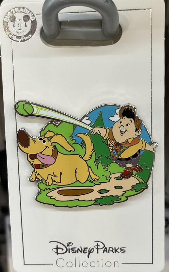 Dug & Russell 2021 UP Disney Pin