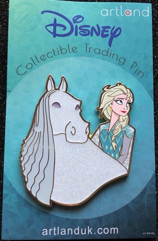 Elsa & Nokk LE 300 ArtLand Disney Pin