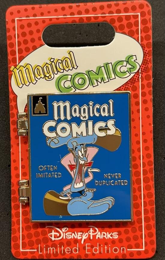 Genie Magical Comics Disney Pin