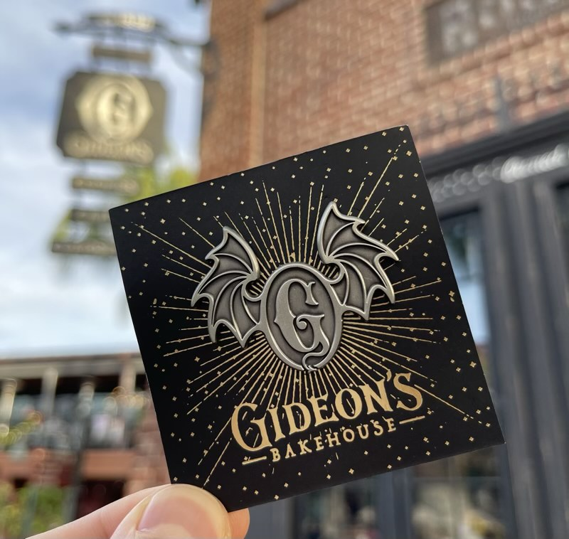 Gideon's Bakehouse Pin at Disney Springs
