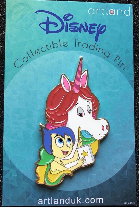 Joy & Rainbow Unicorn LE 300 ArtLand Disney Pin