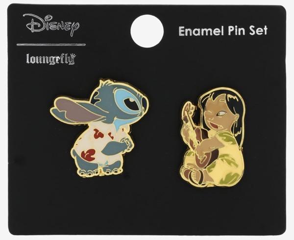 Lilo & Stitch Luau BoxLunch Disney Pin Set