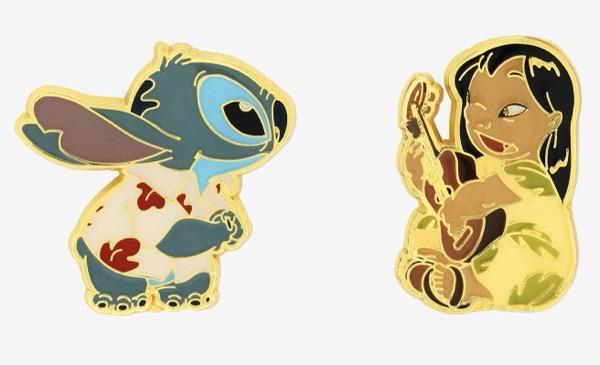 Lilo & Stitch Luau BoxLunch Disney Pins