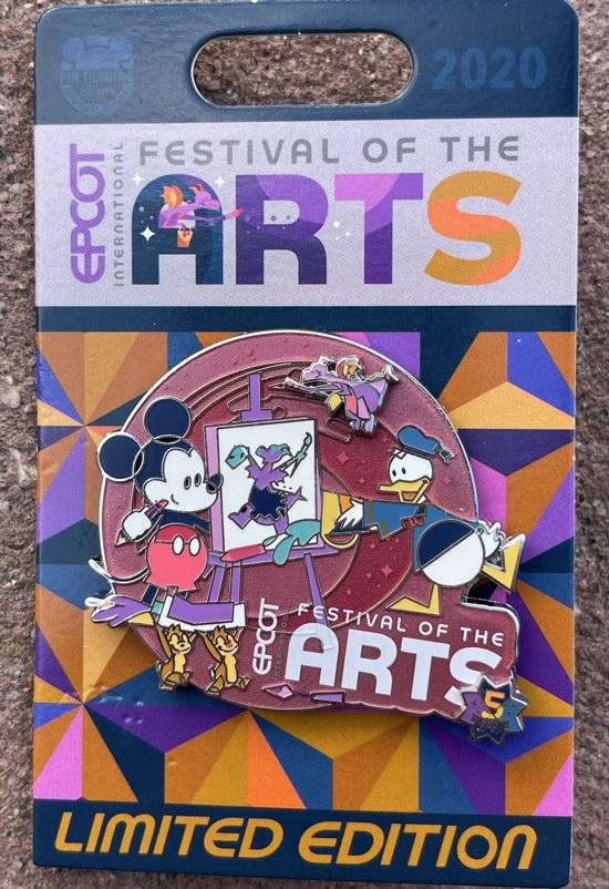 Logo Pin - Epcot Festival of the Arts 2021