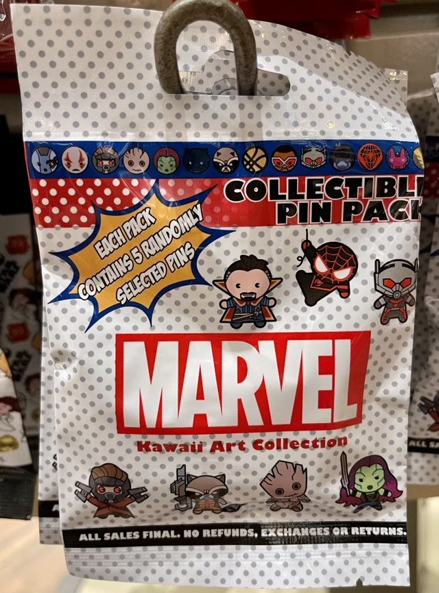 Marvel Series 2 Collectible Pin Pack