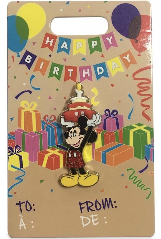 Mickey Mouse Happy Birthday 2021 Disney Pin