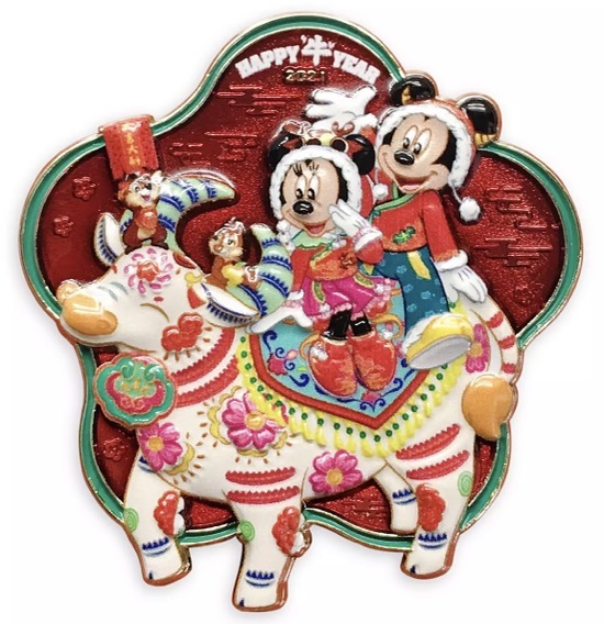 Mickey Mouse and Friends Lunar New Year 2021 shopDisney Pin